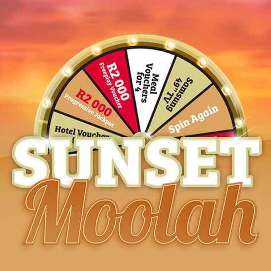 Sunset Moolah gaming promotion