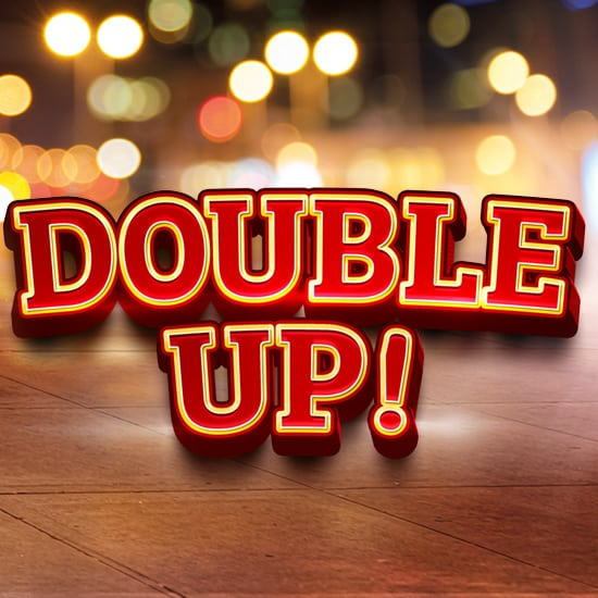 Double Up gaming promotion at Blackrock Casino square banner